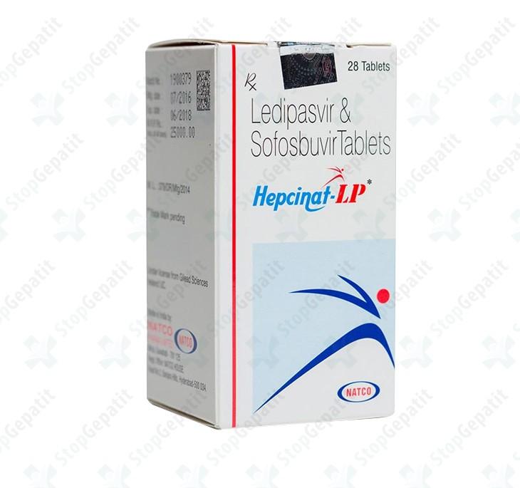 Ледипасвир и Софосбувир Hepcinat LP